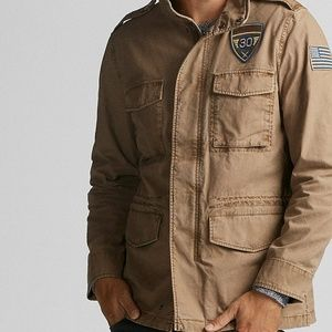 NEW WITH TAGS Express Mens M Military Jacket